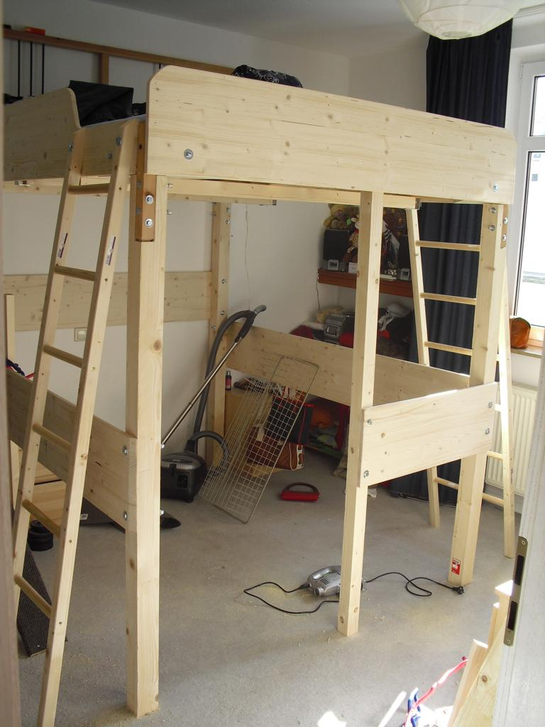 Elegant Making a loft bed from the DALSELV
