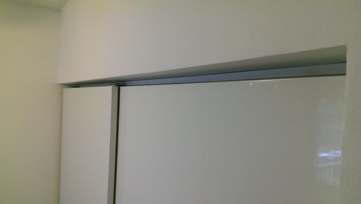 How to use IKEA PAX Doors in Standard Closet - IKEA Hackers