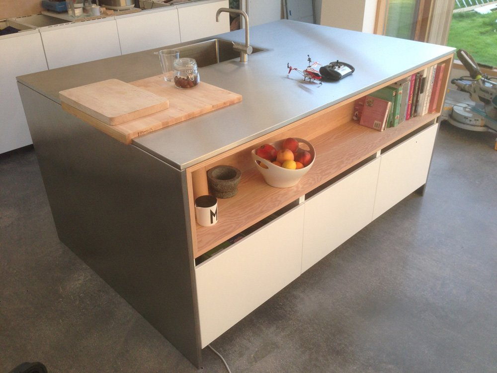 Ikea Kitchen Island With Sink ~ Shiny Kitchen Island  IKEA Hackers  IKEA Hackers