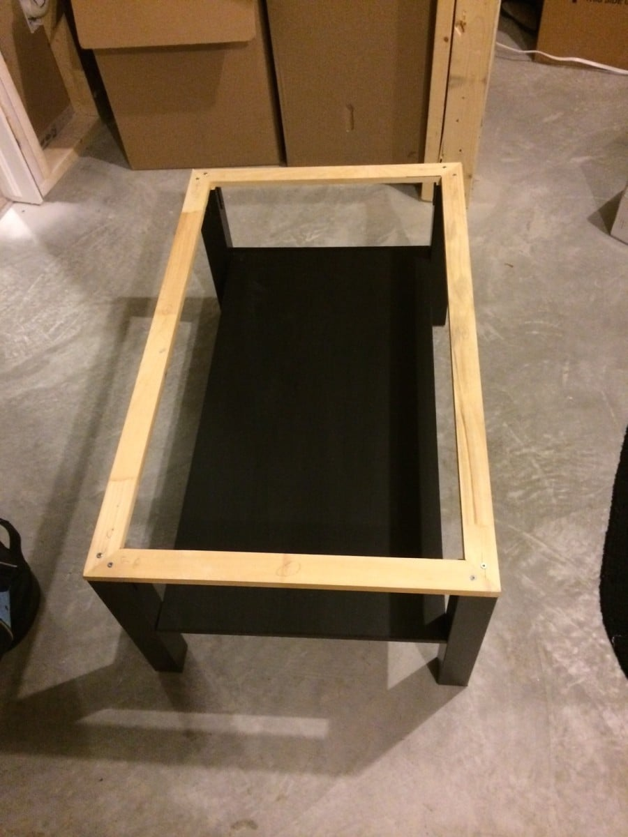 Concrete Coffee Table Ikea Hackers