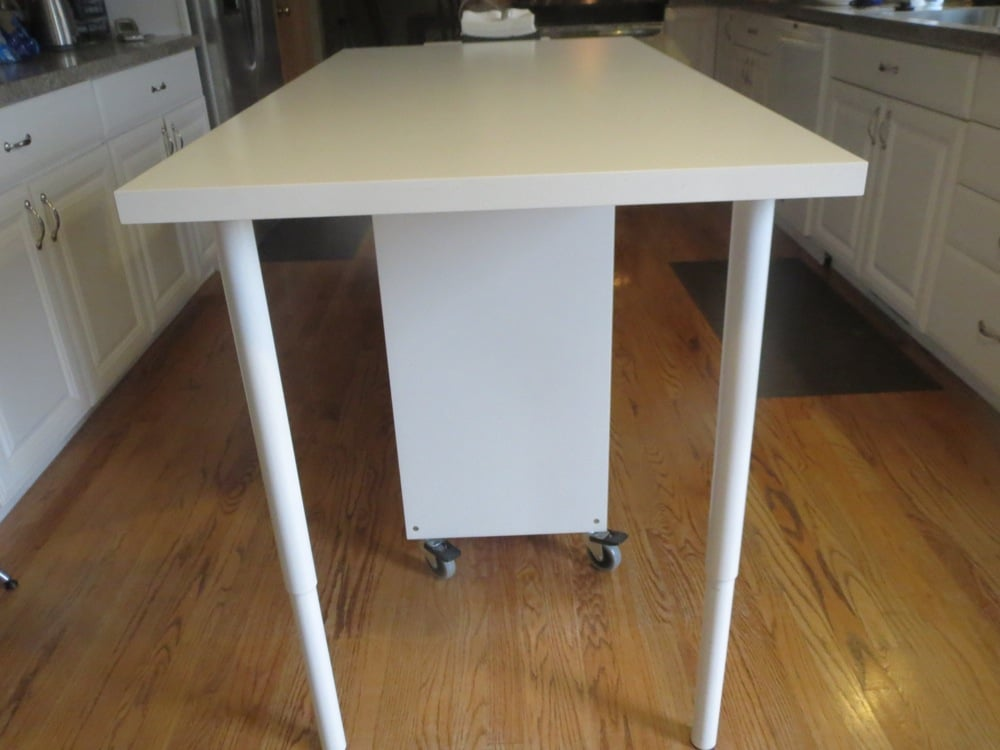 Perfect Extendable Kitchen Island Using Expedit And Linmon