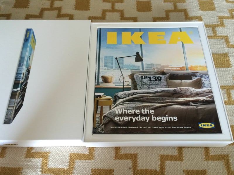 Unboxing The 2015 Ikea Catalog Ikea Hackers
