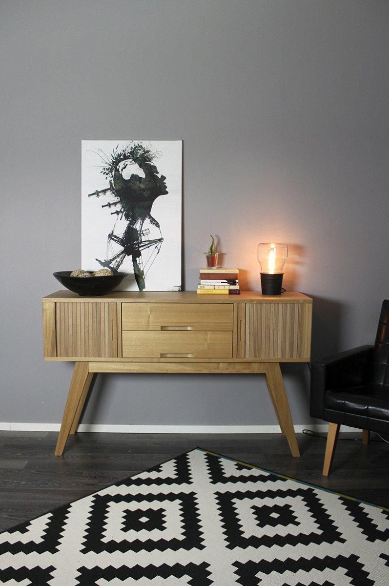modern industrial small table light ikea hackers ikea hackers. Black Bedroom Furniture Sets. Home Design Ideas