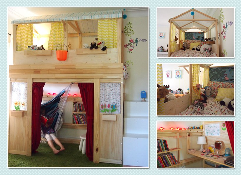 Unique From bunk bed to playhouse