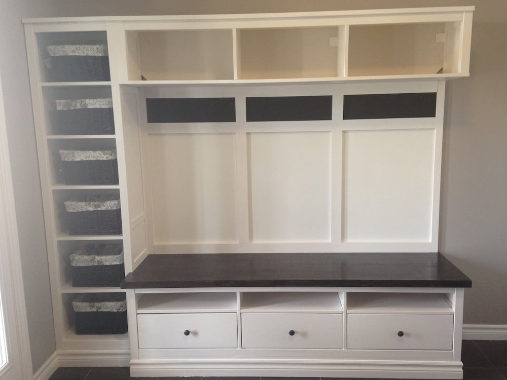hemnes entryway hack ikea hackers ikea hackers. Black Bedroom Furniture Sets. Home Design Ideas
