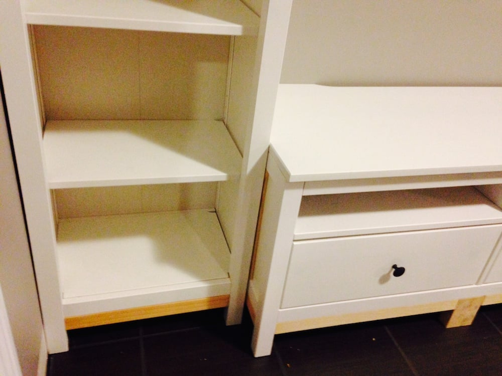 hemnes entryway hack ikea hackers bloglovin. Black Bedroom Furniture Sets. Home Design Ideas