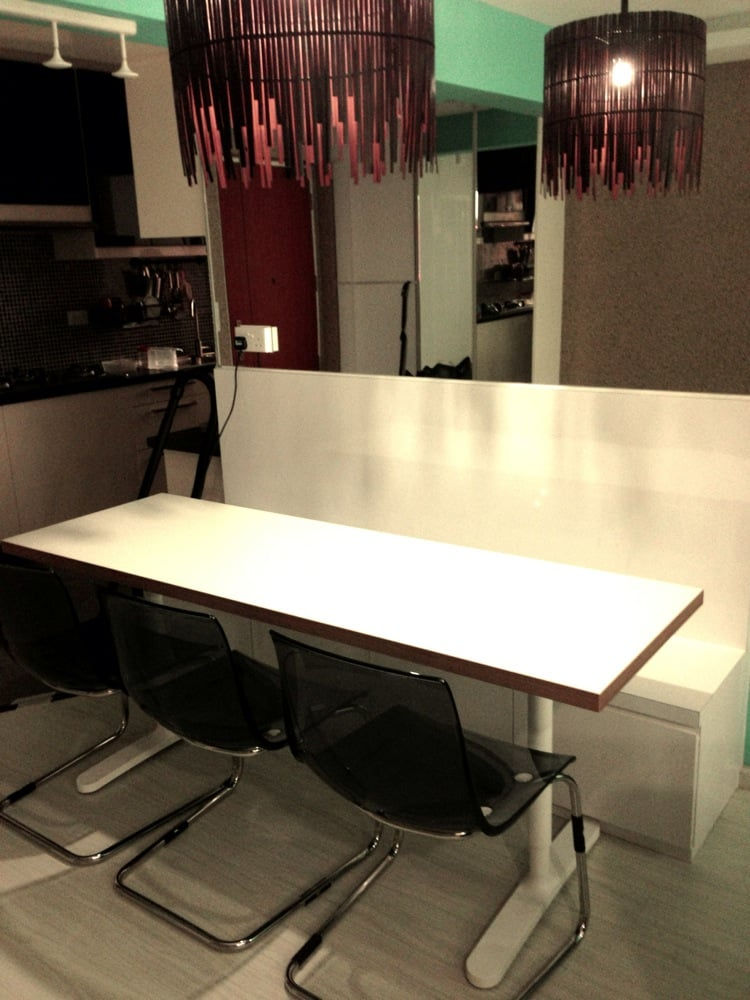 Numerar Countertop Dining Table Ikea Hackers