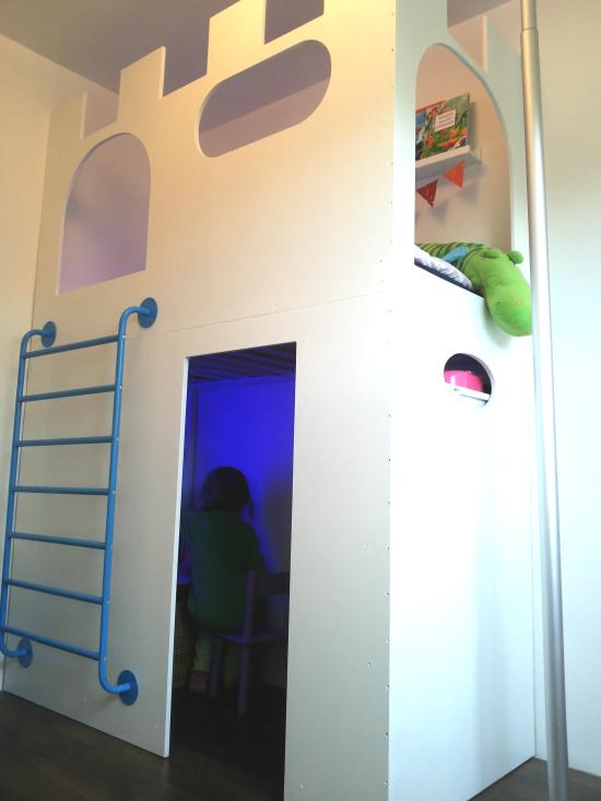 DIY Ikea hack castle bed