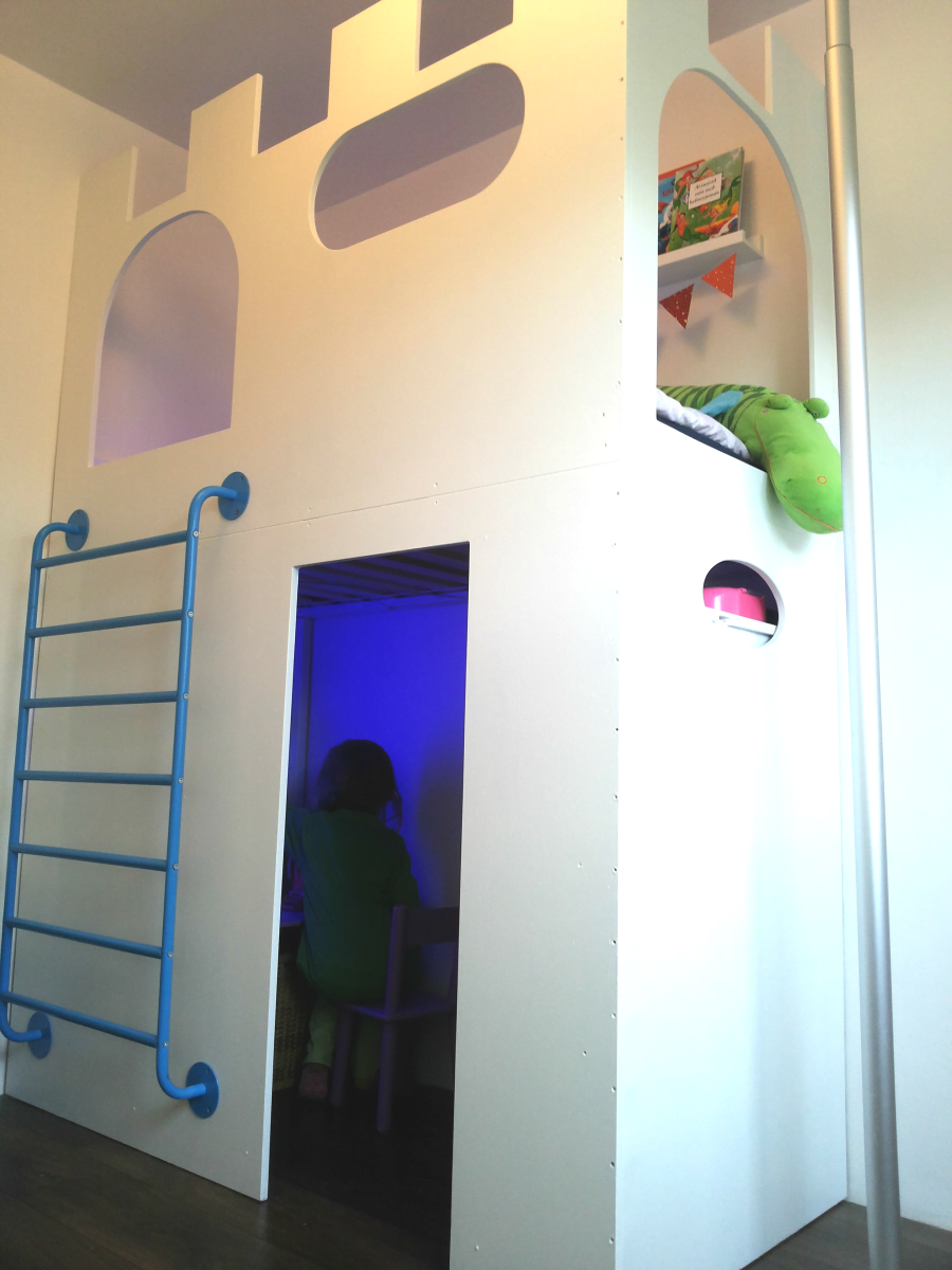 Epic Castle playhouse u loft bed