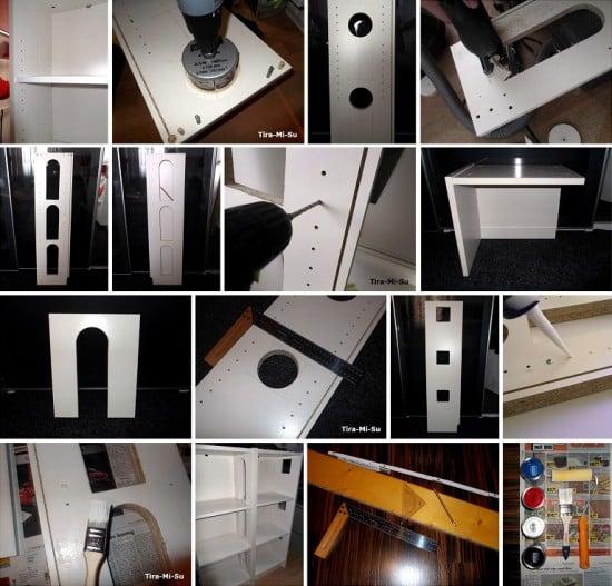 3) Bauanleitung Monster Haus IKEA Hack aus BILLY Regalen