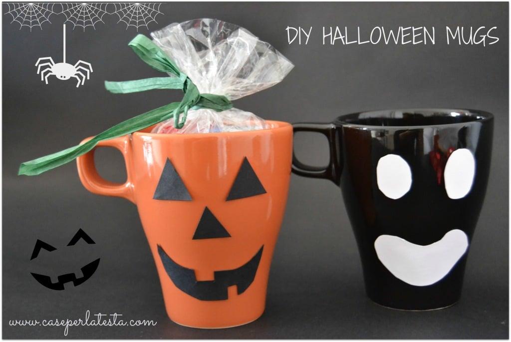 Quick Idea Last Minute Diy Low Cost Halloween Mugs Ikea Hackers