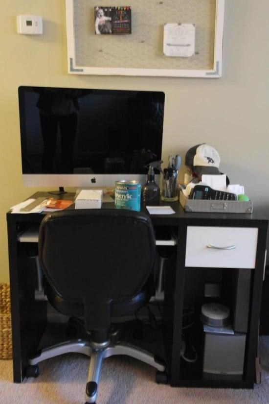 Trend IKEA Hack to Rustic Desk Sypsie Designs