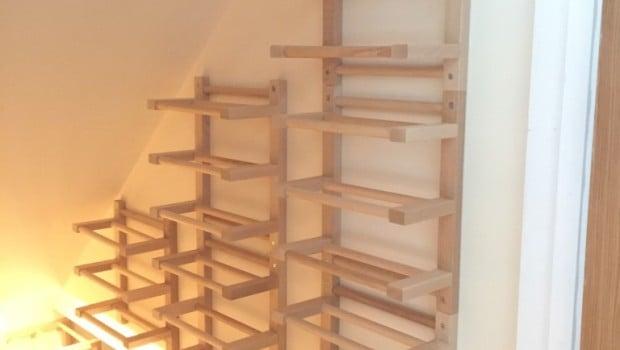 Hutten Wall Mounted Side On Wine Racking Ikea Hackers