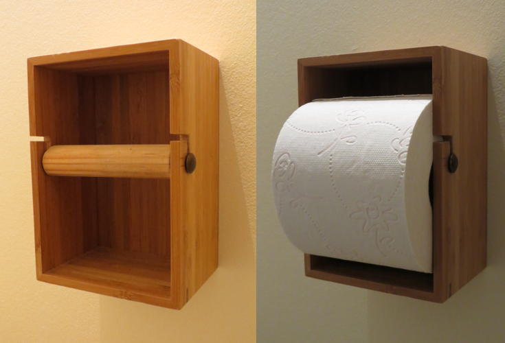 Toilet Accessoires Ikea : Dragan toilet roll holder ikea hackers