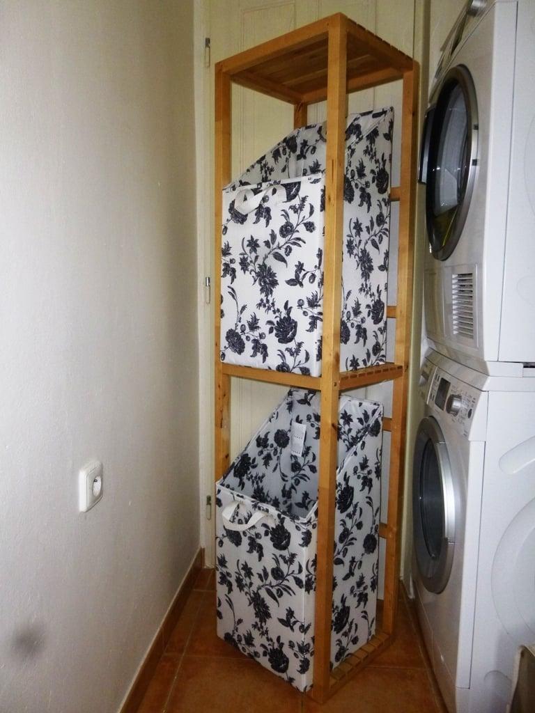 Laundry ikea hack hamper