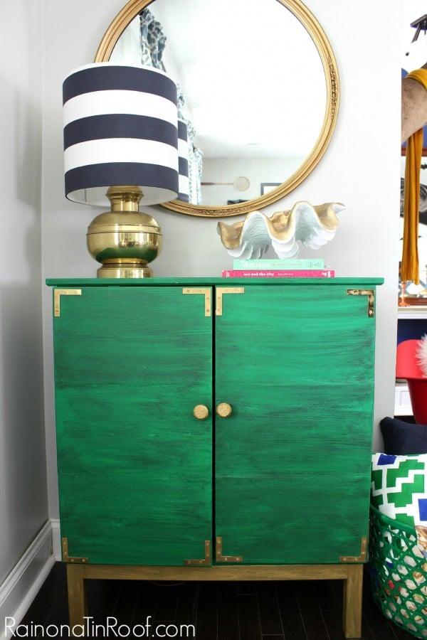 Ikea tarva turned drink bar ikea hackers for Bar cabinets ikea