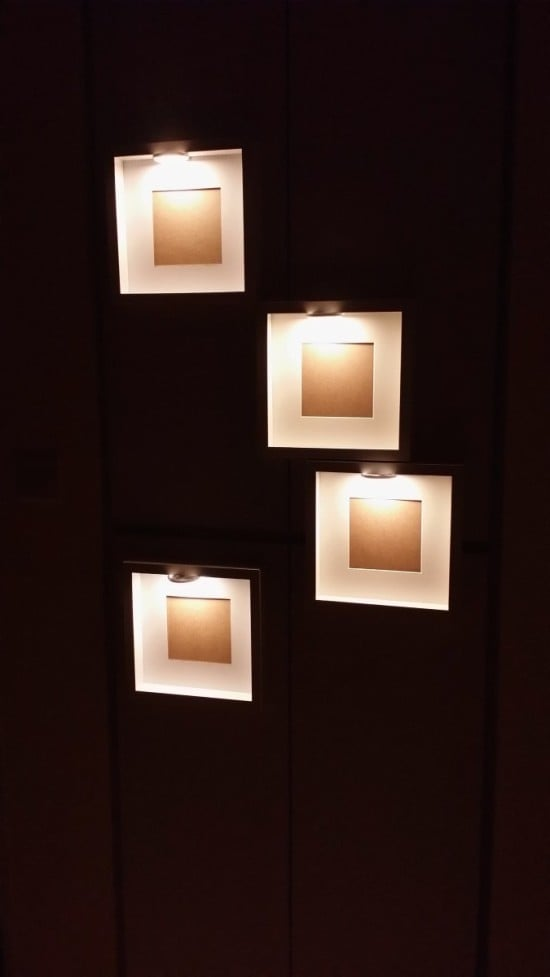 RIBBA frame + DIODER LED multi-use lighting = decorative night ...