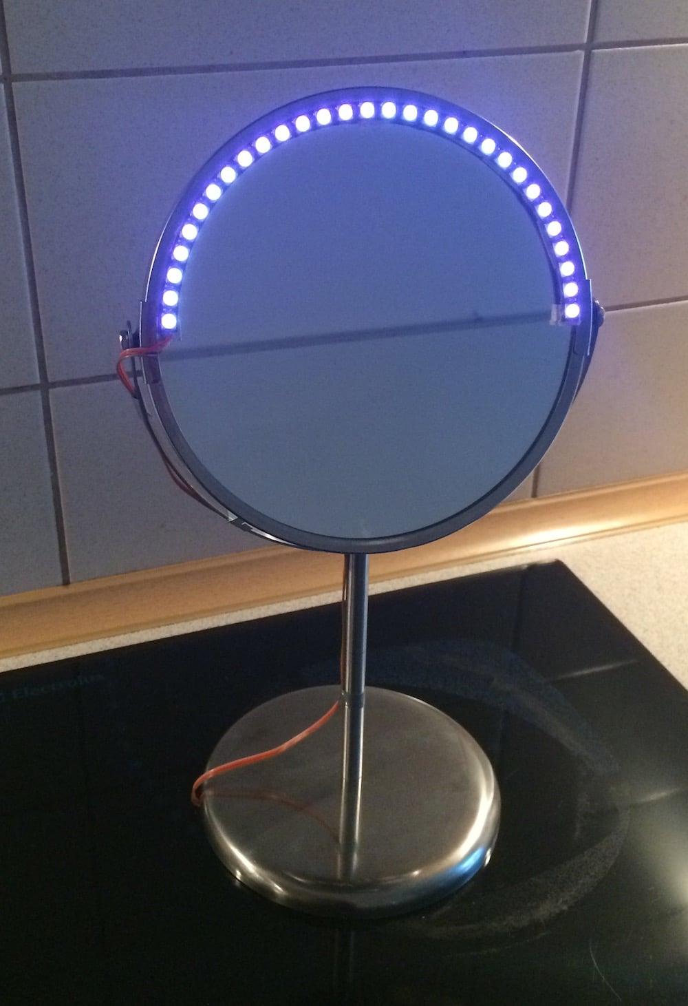 Trensum Mirror With Backlight Ikea Hackers