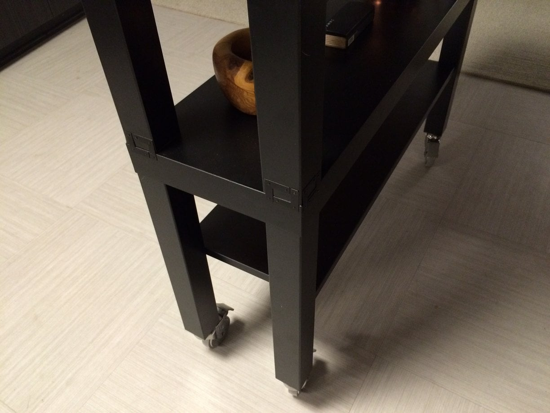 Kitchen Island Units Ikea high-top gerton slab kitchen island - ikea hackers - ikea hackers