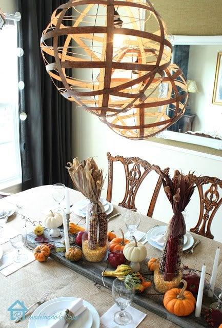 thanksgiving table by remodelando la casa1