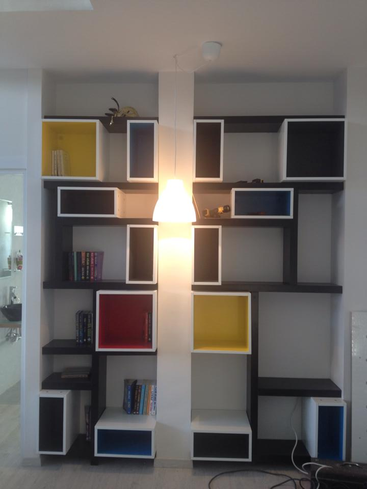 Mondrian style library