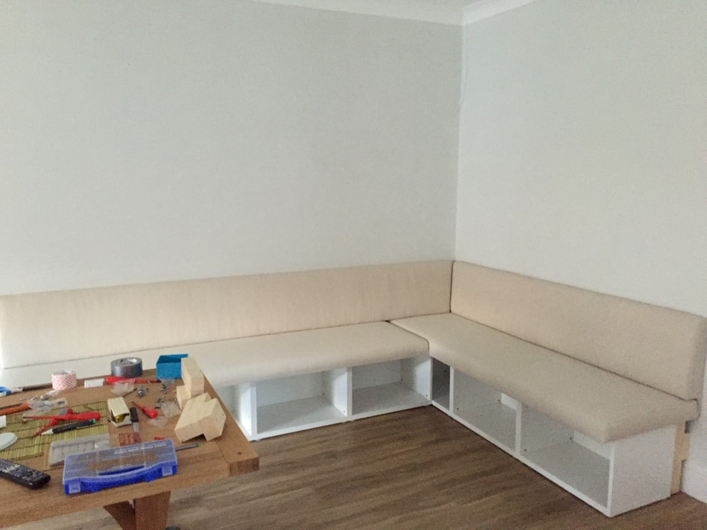 Besta Bench Seat Dining Area IKEA Hackers