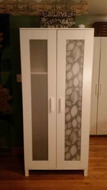 Aneboda Wardrobe And Brimnes Dresser Window Hack Ikea