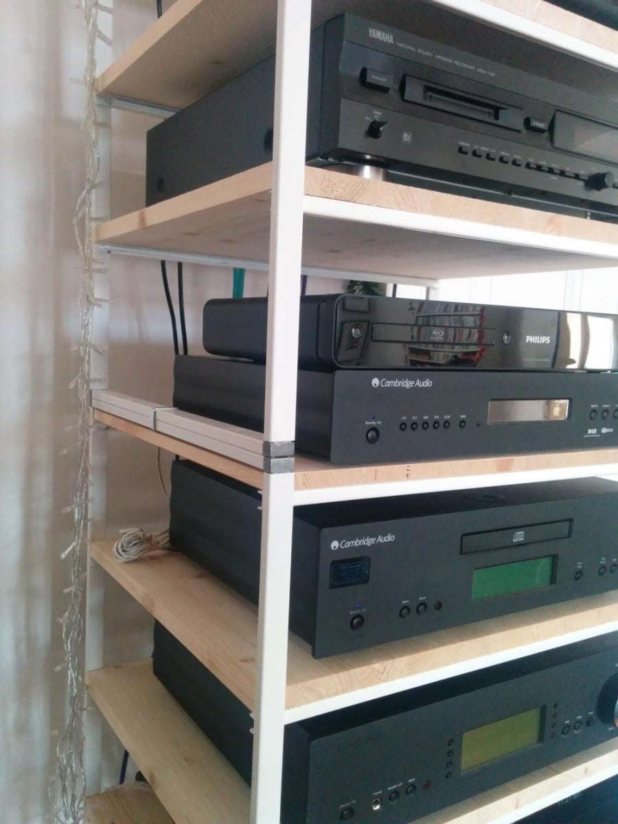 Ikea antonius multi tiered hi fi rack ikea hackers - Mobile hi fi ikea ...