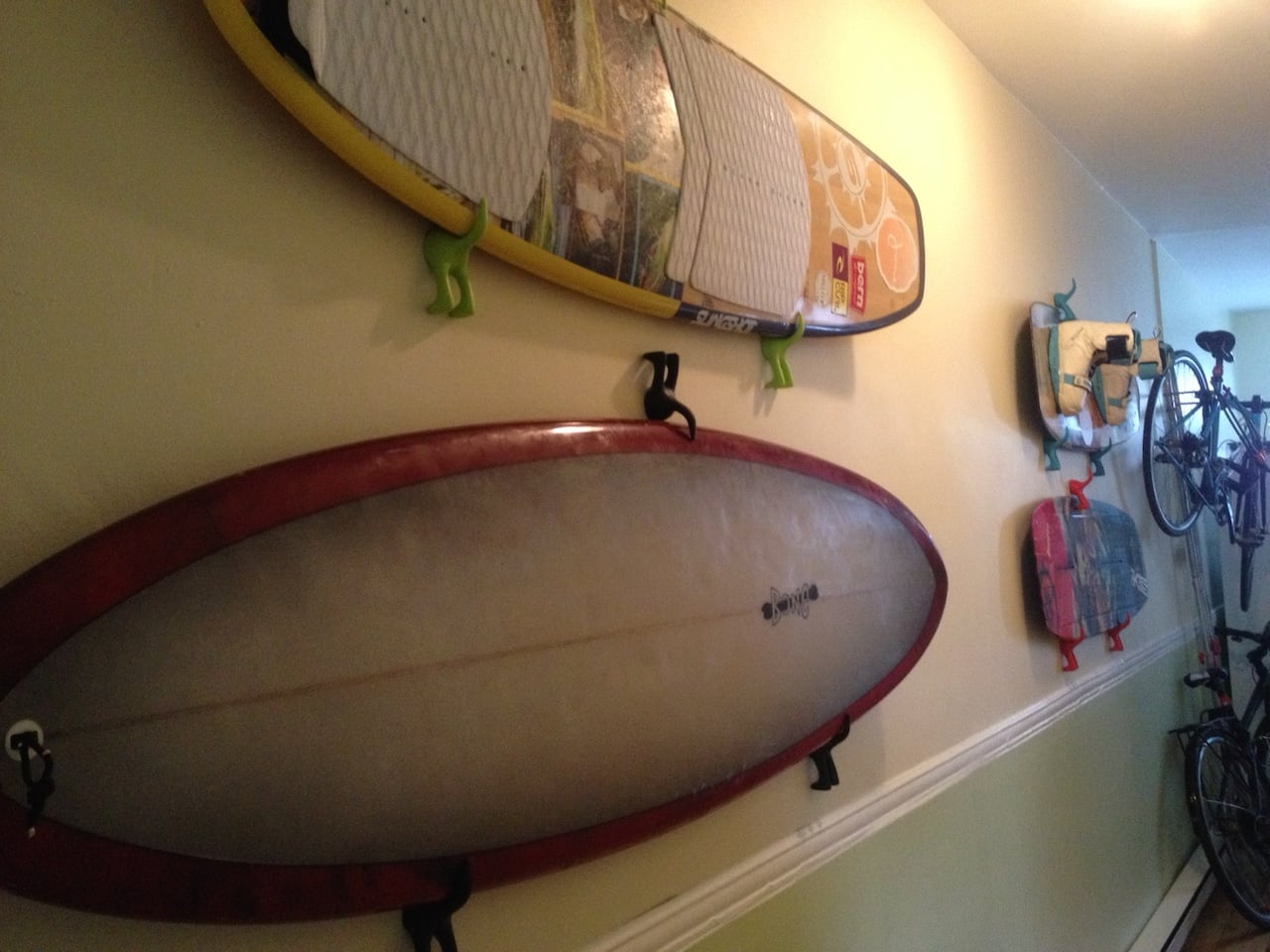 cheap and good surfboard rack