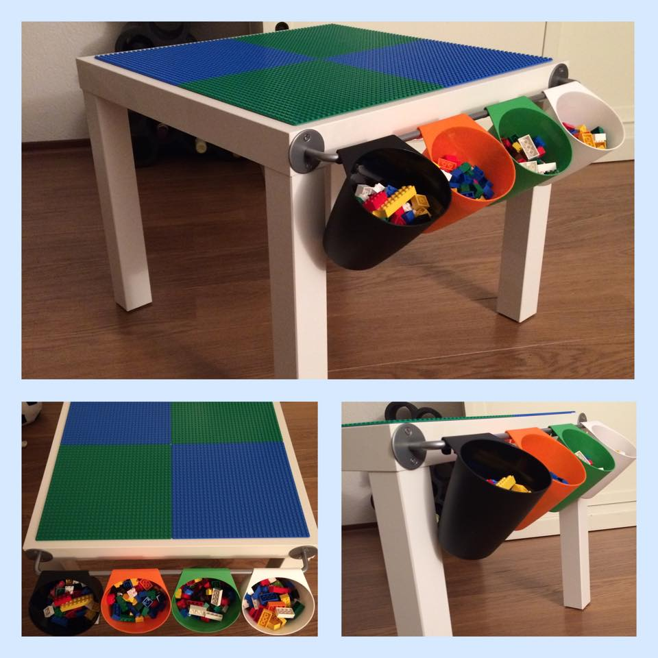 Compact LACK LEGO Play Table IKEA Hackers