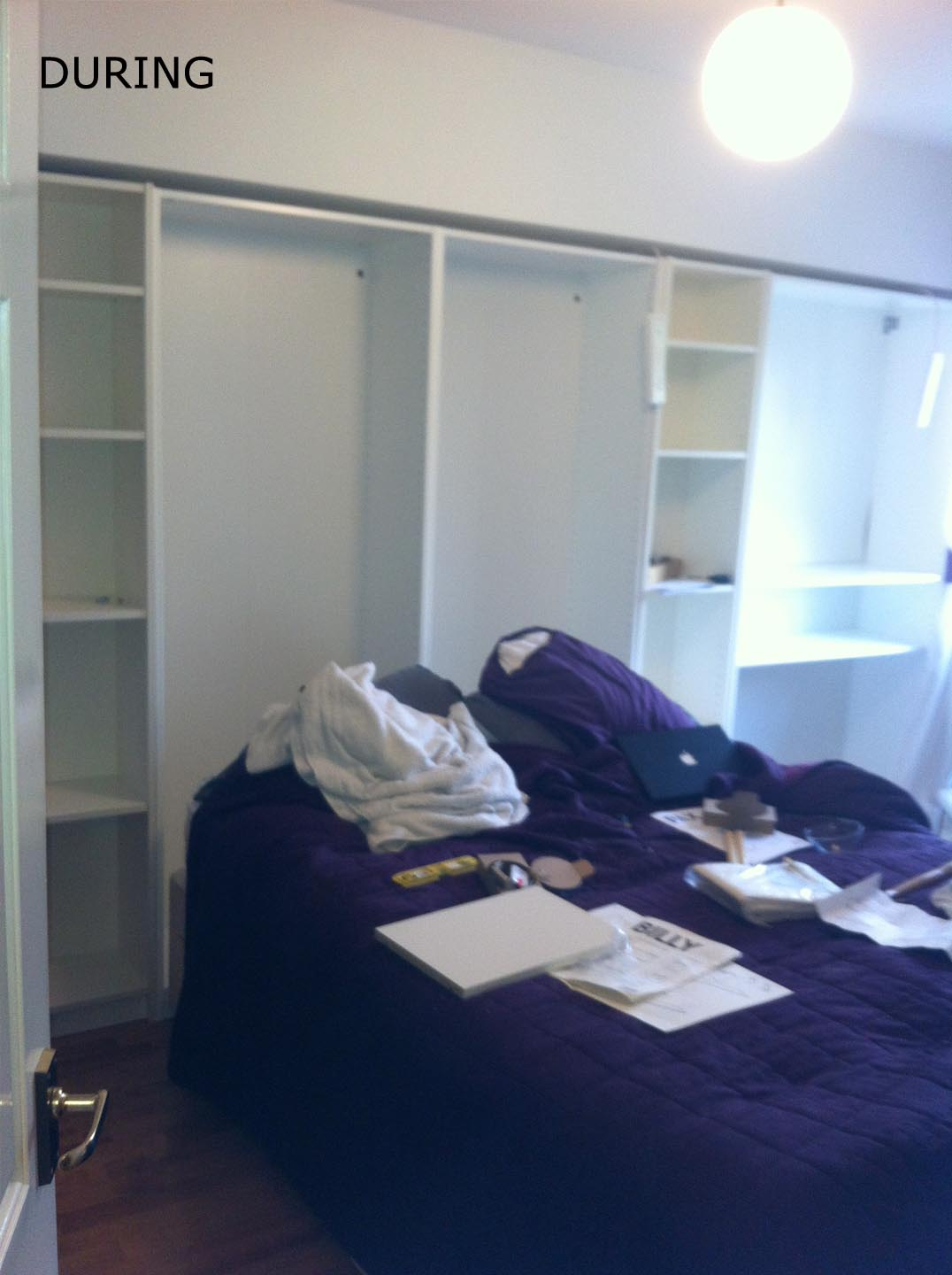 Small bedroom big heart and lots of storage ikea hackers ikea hackers - Ikea wardrobes for small spaces ...