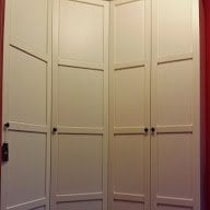 How To Make PAX Doors Narrower