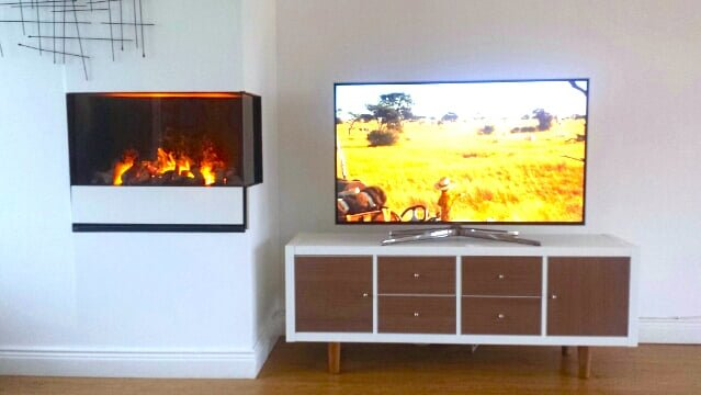 kallax tv stand ikea hackers. Black Bedroom Furniture Sets. Home Design Ideas