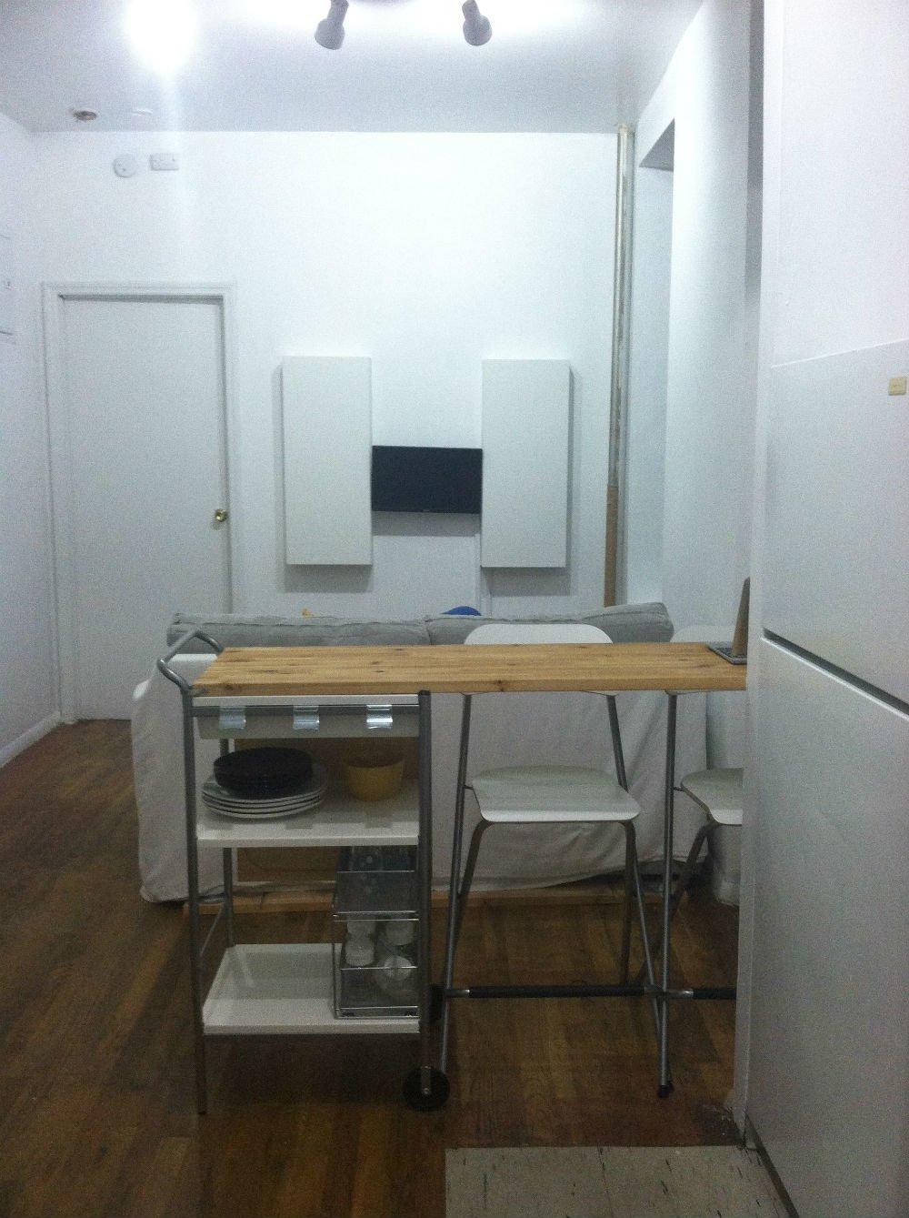Breakfast Bar with Dish and Silverware Storage IKEA Hackers IKEA Hackers