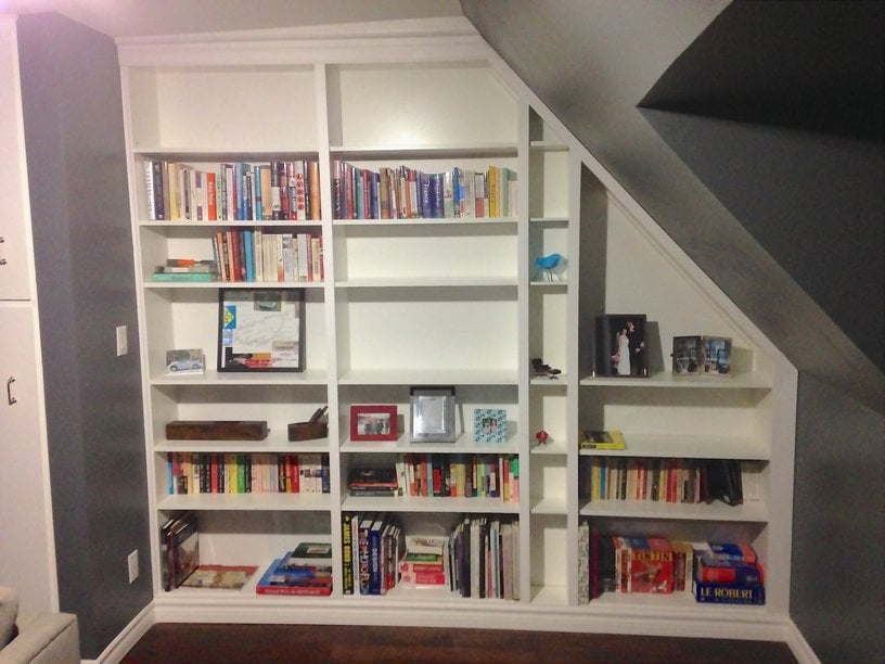 make me a built in bookcase she said ikea hackers. Black Bedroom Furniture Sets. Home Design Ideas