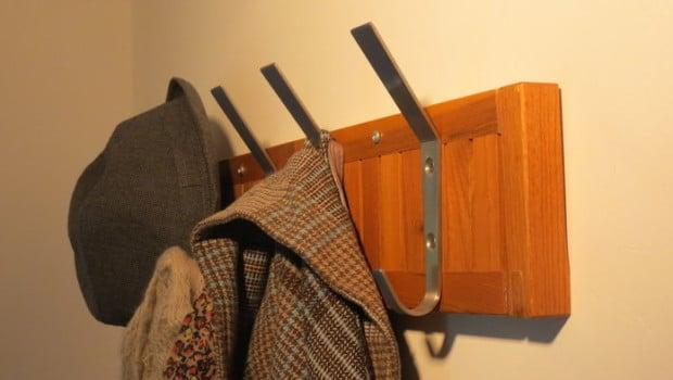ikea molger shelf as coat rack ikea hackers ikea hackers. Black Bedroom Furniture Sets. Home Design Ideas