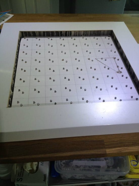 IKEA Lack Table is now a Music LED Visualiser