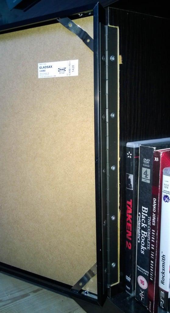 Gladsax Frames As Doors In Kallax Expedit Ikea Hackers