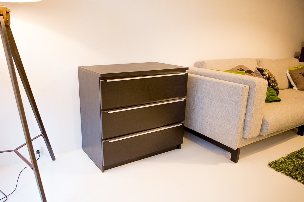 Just Add A Little Sparkle Malm Drawer Chest Ikea Hackers