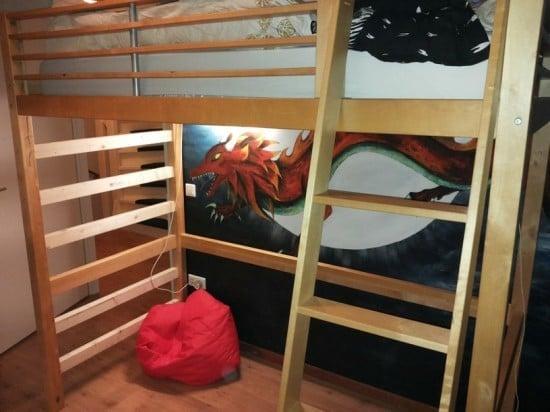 5 assembled bed