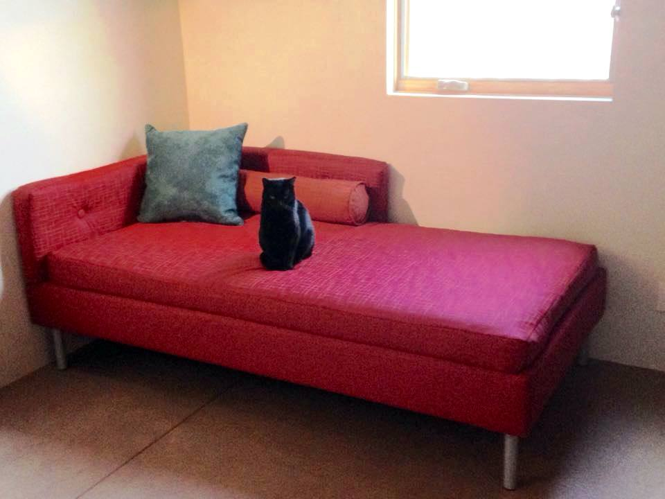 Boring Lillehammer Bedframe Goes Mid Century Modern Daybed