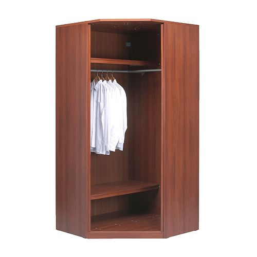 Make IKEA Hopen Corner Wardrobe Kid Friendly?
