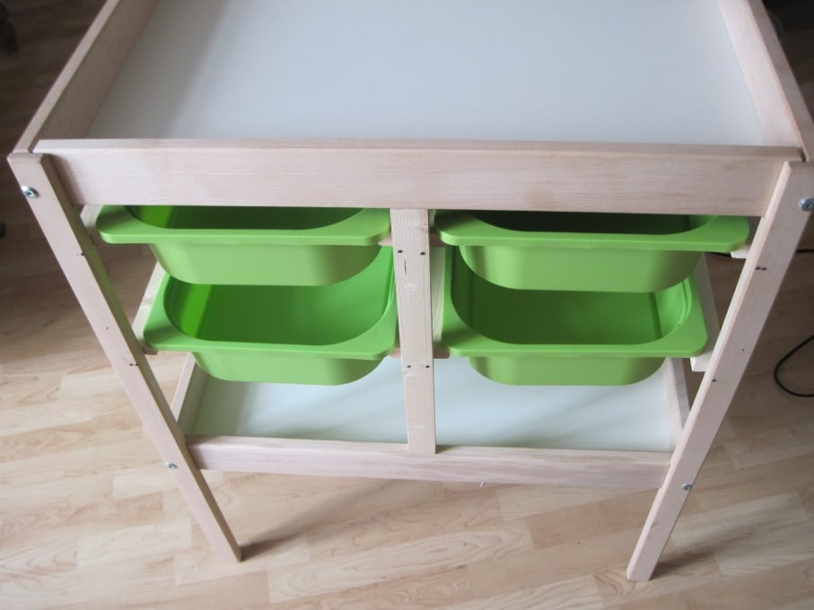 Changing table to chest of drawers ikea hackers ikea - Table a langer compact ...