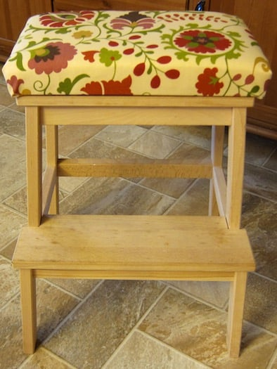 bekvam step stool with seat