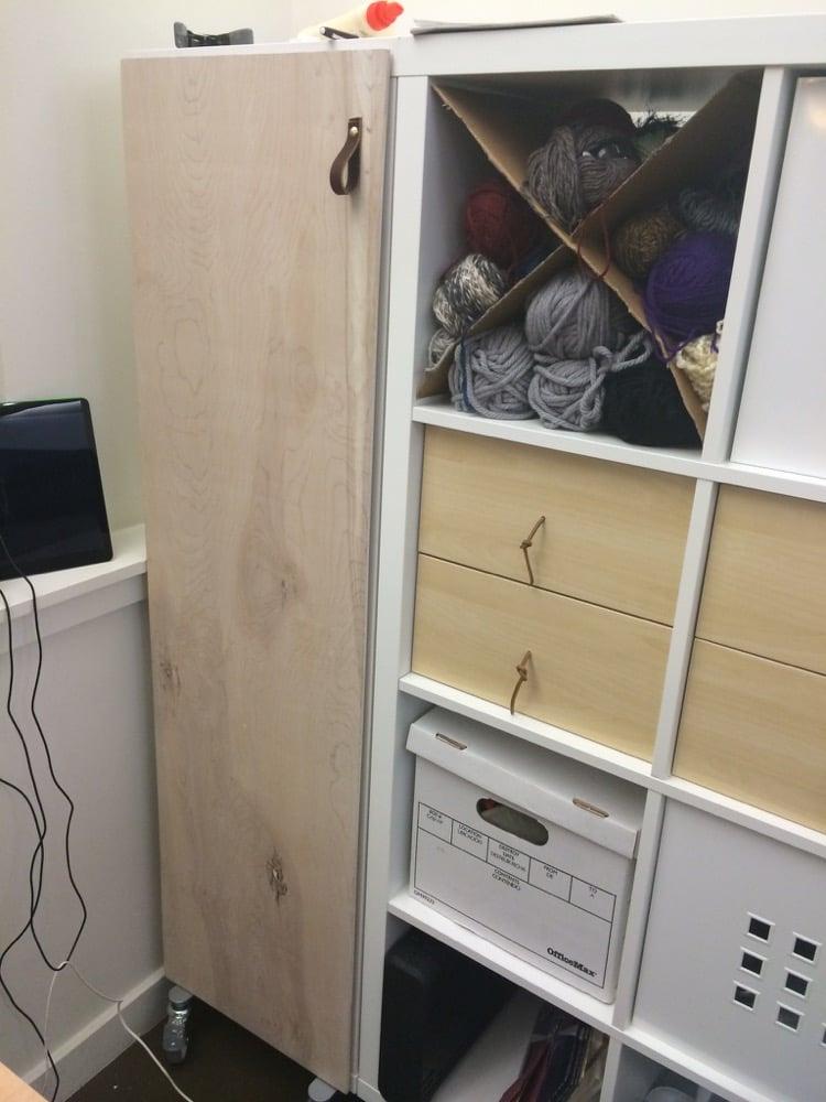 kallax craft cabinet with doors ikea hackers ikea hackers. Black Bedroom Furniture Sets. Home Design Ideas