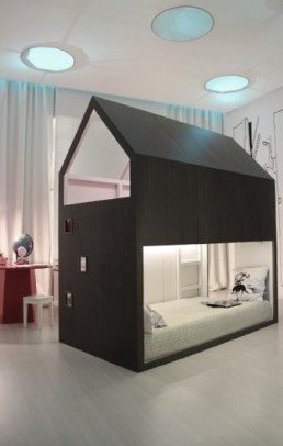 a charming bed with an upper play deck using the kura bed frame as base well done gisela read more - Best Ikea Bed Frame