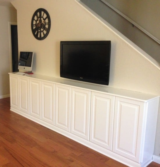 LIDINGÖ living room built-in console