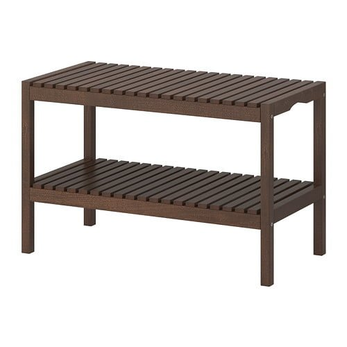 Beautiful molger bench brown PE S