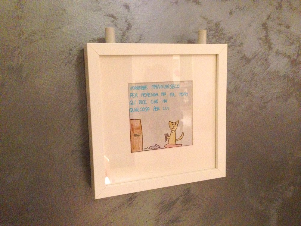 nice frames personalised presents with ribba frames ikea hackers ikea hackers