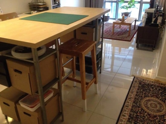 Hyllis Working/Dining Table